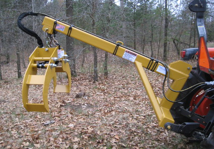 Tractor log splitter hook up